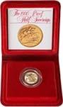 1980 Gold Half Sovereign Elizabeth II Proof 21530