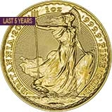 1 oz Gold Coin Britannia Bullion Best Value Newly Minted 21413