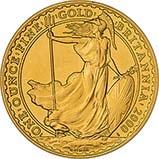 2000 1 oz Gold Coin Britannia Bullion 21893