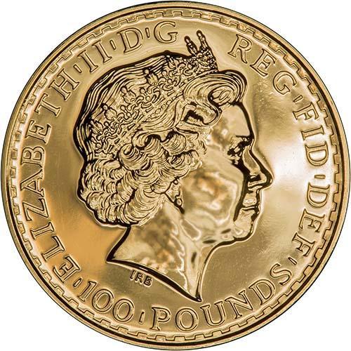 2009 1 oz Gold Coin Britannia Bullion 22820