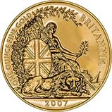 2007 1 oz Gold Coin Britannia Bullion 24929