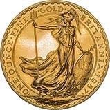 1987 1 oz Gold Coin Britannia Bullion 23685