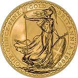 1996 1 oz Gold Coin Britannia Bullion 22578