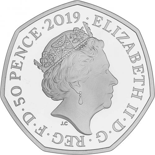 BRAND NEW The Snowman 50p Official Royal Mint 2019 Silver Proof Fifty Pence Coin