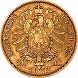 Gold German 20 Mark Bullion 24904