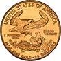 2008 0.5 oz Gold Coin Eagle Bullion 22036