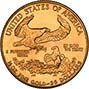 1986 0.5 oz Gold Coin Eagle Bullion 22167