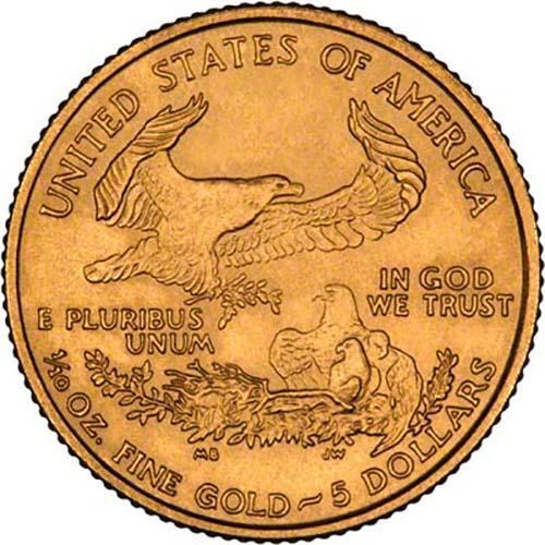 2004 0.1 oz Gold Coin Eagle Bullion 22834
