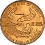 2002 0.25 oz Gold Coin Eagle Bullion 22949