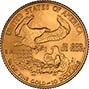 2001 0.25 oz Gold Coin Eagle Bullion 22164