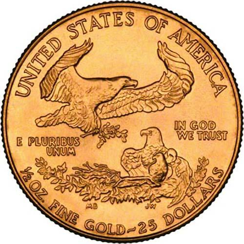 2002 0.5 oz Gold Coin Eagle Bullion 24140