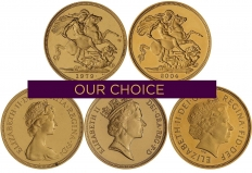 QEII Gold Sovereign Coins l Chards