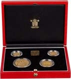 1999 Whole Coin Set Sovereign - Four (4) Coins Gold Proof Presentation Box