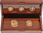 2014 Whole Coin Set Sovereign - 5 Coins Gold Proof Presentation Box