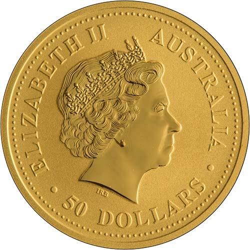 2006 0.5 oz Gold Coin Lunar Year of the Dog Perth Mint Bullion 21329