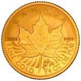 2007 0.25 oz Gold Coin Maple Bullion 21914