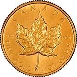 1984 0.25 oz Gold Coin Maple Bullion 23283