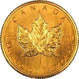 2003 0.25 oz Gold Coin Maple Bullion 24347