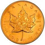 1989 0.5 oz Gold Coin Maple Bullion 21995