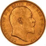 Gold Sovereign Edward VII Bullion 20827