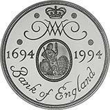 1994 UK Coin £2 Silver Proof Bank Of England 24962