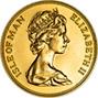 1973 Gold Isle of Man Five Pounds Bullion 22881