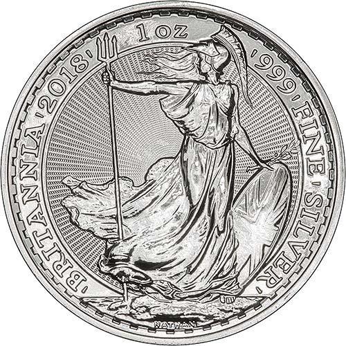 1 oz Silver Coin Britannia Our Choice Newly Minted Bullion 20929