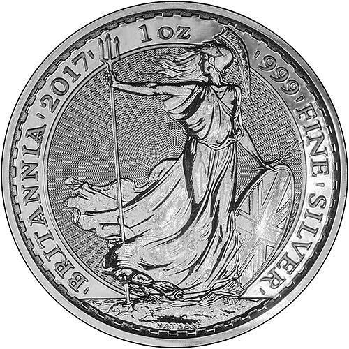 1 oz Silver Coin Britannia Our Choice Newly Minted Bullion 20928