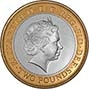 2013 UK Coin £2 Silver Proof London Underground - Train 21835