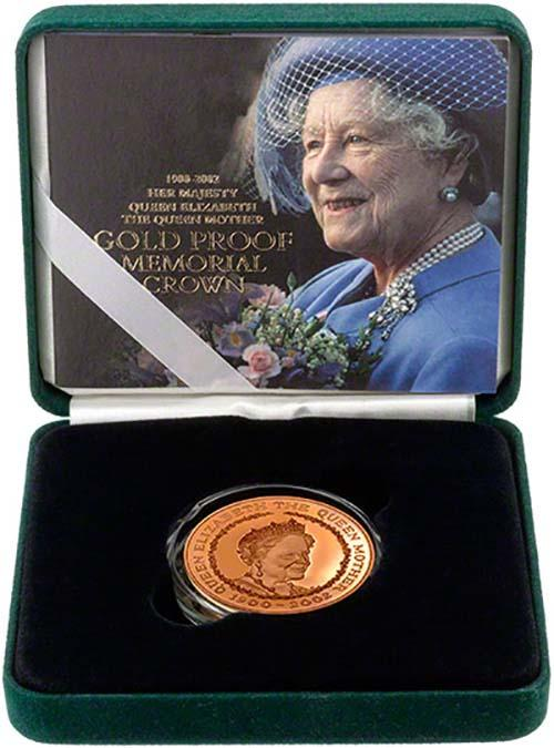 Buy A 2002 Queen Mother Memorial 163 5 Gold Proof Chard