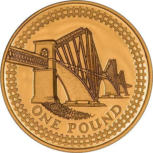 1 pound coin 2004 bridge