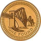 2004 Forth Rail Bridge £1 Gold Proof Coin 21239