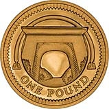 2006 UK Coin £1 Gold Proof Egyptian Arch Bridge 24198