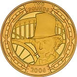 2006 UK Coin £2 Gold Proof Brunel - The Man 21854