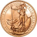 1988 1 oz Gold Coin Britannia Proof 24396