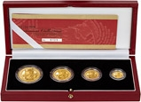 2002 Gold Proof Britannia Coin Set - 4 Coins 23919