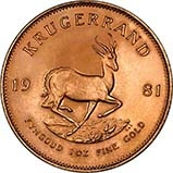1981 1 oz Gold Coin Krugerrand Bullion 23897