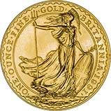 1991 1 oz Gold Coin Britannia Bullion 24116