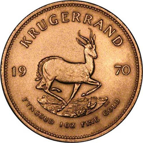 1970 1 oz Gold Coin Krugerrand Bullion 23939