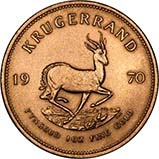 1970 1 oz Gold Coin Krugerrand Bullion 23939