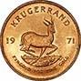 1971 1 oz Gold Coin Krugerrand Bullion 20660