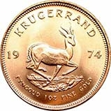 1974 1 oz Gold Coin Krugerrand Bullion 23358