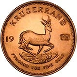 1975 1 oz Gold Coin Krugerrand Bullion 25087