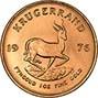 1976 1 oz Gold Coin Krugerrand Bullion 21215