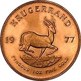 1977 1 oz Gold Coin Krugerrand Bullion 24743
