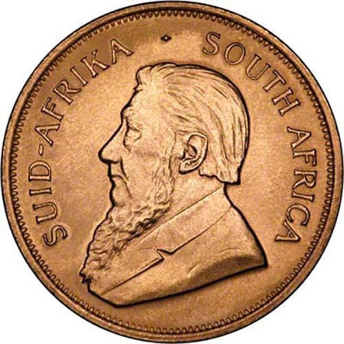 1982 1 oz Gold Coin Krugerrand Bullion 22329