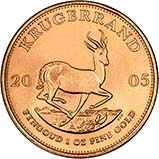 2005 1 oz Gold Coin Krugerrand Bullion 25253