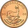 2005 1 oz Gold Coin Krugerrand Bullion 25253