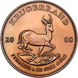 2008 1 oz Gold Coin Krugerrand Bullion 21481