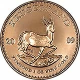 2009 1 oz Gold Coin Krugerrand Bullion 22011